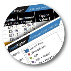 StockOpter.com for Equity Compensation Recipients Sample Reports